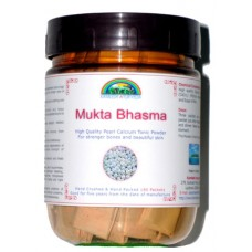 Mukta Bhasma (Pearl Calcium Tonic Powder) 180 Packets